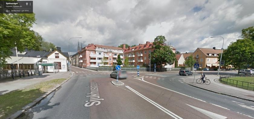 Sjukhusvägen Uppsala